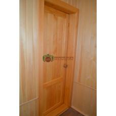 Двери из кедра